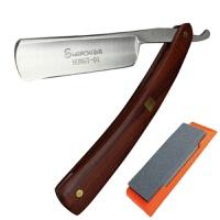 手工开刃男士专用老式剃须刀手动刮胡刀理发店胡子刮刀