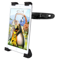 GXI 苹果ipad mini4 air后排座汽车头枕懒人支架 7寸-12寸小米平板 微软 三星 联想 华为 台电 酷比魔方平板电脑通用后座懒人支架 自驾旅行后座支架