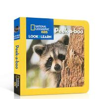 英文原版绘本 National Geographic Kids 美国国家地理系列 Look and Learn Pee