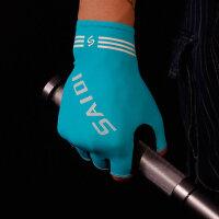 夏季冰丝防晒骑行手套男士户外健身器械运动半指手套薄透气