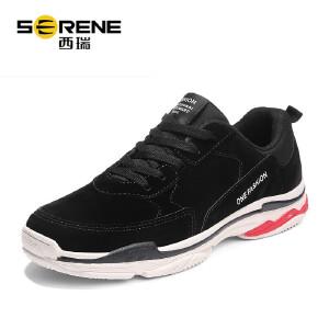 西瑞运动休闲鞋男时尚百搭潮鞋低帮系带跑步鞋学生鞋ZC5839
