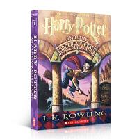 哈利波特英文原版 哈利波特与魔法石 Harry Potter and the Sorcerer's Stone 进口绘