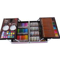 水彩笔套装儿童小学生72色画笔彩笔颜色笔可水洗幼儿园蜡笔绘画初学者彩色笔48色礼盒学生用画画生日