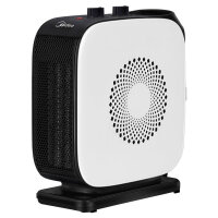 美的(Midea)NTY18-19C1暖风机/取暖器电暖气/电暖器/办公室迷你小暖炉家用节能省电静音 白色