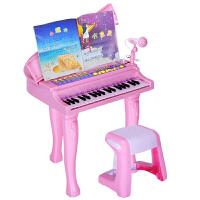儿童电子琴玩具带麦克风女孩宝宝小钢琴1-3-6-8岁