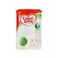 【1段】保税区发货/英国直邮 英国Cow&Gate牛栏 婴幼儿奶粉 一段(0-6个月) 900g 海外购
