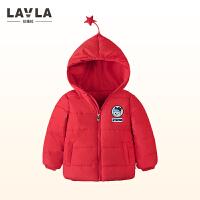拉唯拉/lavla童装男女童外套棉服婴儿外出服宝宝棉袄1-2-3-4岁