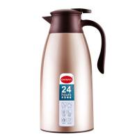 家用1.9L大容量不锈钢真空玻璃内胆暖水壶保温水壶热水瓶