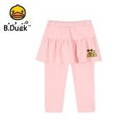 【4折价:115.6】B.duck小黄鸭童装女童长裤夏季新款女孩打底裤裙BF2063901