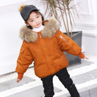 童装女童羽绒服2018新款韩版洋气冬装男童宝宝中小童儿童加厚外套