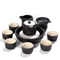 功夫茶杯套装陶瓷茶具整套复古中式个性茶壶泡茶器杯子6人组合