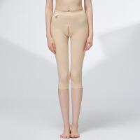 大腿吸脂抽脂塑身裤衣产后收腹提臀束身美体裤瘦腿夏 肤色