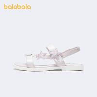 【3件5折价:90】巴拉巴拉官方童鞋儿童凉鞋女大童防滑可爱童趣萌夏季鞋子
