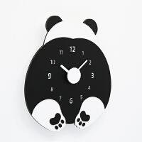 钟表挂钟客厅现代个性儿童卧室静音家用挂表