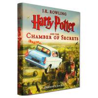 哈利波特与密室 英文原版 Harry Potter and the Chamber of Secrets 全彩插画版 JK罗琳 Jim Kay插画 大开硬封面精装 美版 进口书
