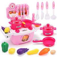 儿童迷你厨房玩具套装仿真厨具过家家女童3-5岁小孩生日礼物女孩2