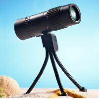 袖珍单筒望远镜 高清高倍率夜视微光非户外旅游看演唱会便携变焦望眼镜 产品尺寸 108*34*38mm