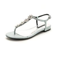星期六(ST&SAT)夏季专柜正品羊皮革舒适平底罗马凉鞋SS82115581
