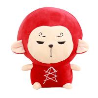 猴子公仔可爱萌悟空孙六空七空韩国搞怪玩偶女毛绒玩具