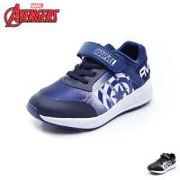 迪士尼Disney童鞋18新款儿童织布运动鞋男童休闲鞋舒适透气跑步鞋(9-13岁可选) VA4030