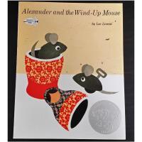 【全店300减100】英文原版Alexander and the Wind-Up Mouse 亚历山大和发条鼠绘本