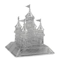 领智3D立体水晶拼图 发光城堡 益智积木 创意礼物