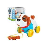 音乐拉线狗 智能机器狗会唱歌音乐拉线狗1-2周岁男女孩3-6宝宝电动玩具 赠送2节5号电池+螺丝刀