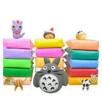 超轻粘土36色橡皮泥无毒水晶彩泥手工黏土大包装女孩太空儿童玩具