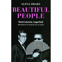 【中商原版】【法国法文版】美人:伊夫・圣・洛朗和卡尔・拉格斐(老佛爷) 法文原版 Beautiful People:
