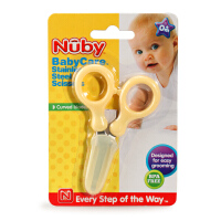 美国 nuby 努比 婴儿防滑指甲剪/指甲刀 宝宝指甲剪刀多色可选