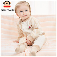 TWU3174141大嘴猴(Paul Frank) 婴儿 小怪物雪花空气层 对襟连身衣1入装