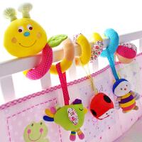 婴儿床铃安抚玩具0-3-6-12个月男女孩床挂宝宝床头摇铃床绕