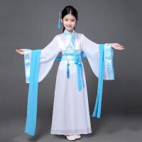 六一儿童古装唐装女童古装仙女装表演服古代公主汉服服装古筝