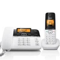 Gigaset|集怡嘉(原西门子电话)C330A全中文无绳数字来电显示电话子母机带录音