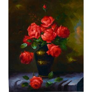 Y343  郑美明红玫瑰