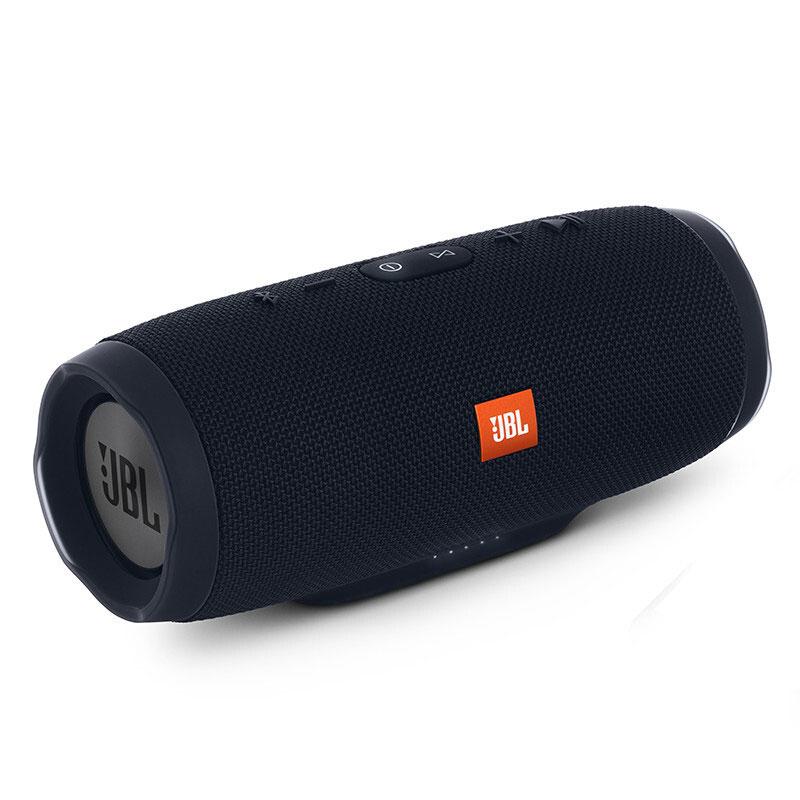 JBL Charge3 音乐冲击波3 爵士黑 便携迷你音响 蓝牙小音箱 音响 低音炮用礼品卡购买JBL音响,上当当自营,防水设计!
