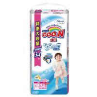 [当当自营]GOO.N大王 婴幼儿用短裤式纸尿裤 拉拉裤 尿不湿(女宝宝)XXL34片(适合13-25kg) 电商装