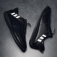 男鞋秋季2018新款韩版潮流休闲鞋子男士小白鞋百搭潮鞋帆布鞋