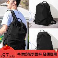 双肩包男士背包大容量旅行时尚潮流休闲电脑包书包女大学生中学生