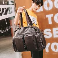 男士旅行包手提包大容量旅游男包健身短途商务出差单肩行李包