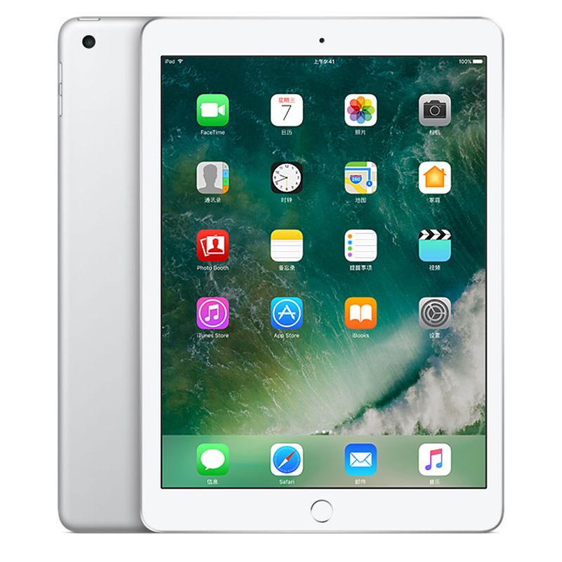 Apple iPad 平板电脑 9.7英寸(128G WLAN版/A9 芯片/Retina显示屏/Touch ID技术 MP2J2CH/A)银色可使用礼品卡支付 国行正品 全国联保