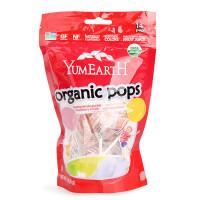 美国Yummy Earth天然混合水果棒棒糖 宝宝年货糖果零食品