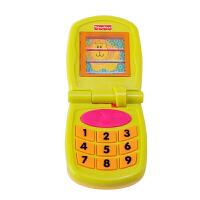 儿童玩具手机 宝宝仿真电话机早教玩具1-3岁 音乐手机Y2771 奇趣翻盖手机