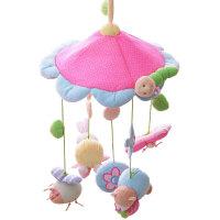 婴儿玩具床铃音乐旋转床头铃宝宝安抚玩具新生儿布床挂摇铃0-1岁