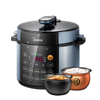 美的(Midea) 电压力锅双胆5L家用智能电高压饭煲 MY-YL50Simple107