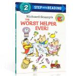 英文原版进口 Step into Reading Step 2 The Worst Helper Ever 糟糕的帮手