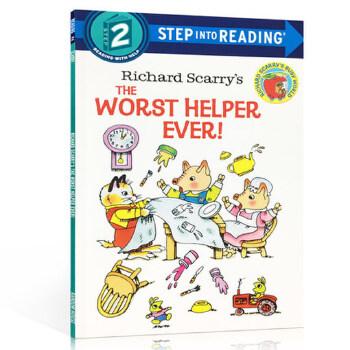 英文原版进口 Step into Reading Step 2 The Worst Helper Ever 糟糕的帮手 理查德