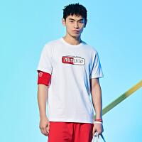 【618到手价:44】361运动短袖t恤男2020夏季新款宽松透气休闲短T圆领上衣体恤男士男装