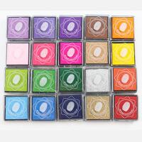 儿童手指画颜料可水幼儿园画画颜料指印涂鸦绘画工具印泥套装 手指印泥20色(一套价格)