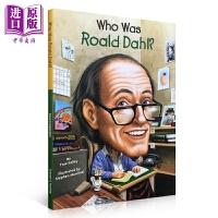 【中商原版】Who Was Roald Dahl 谁是罗尔德・达尔 儿童名人传记科普百科 历史名人百科 少儿科普读物书籍